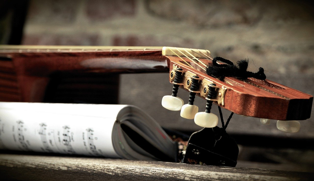 Guitar Guitar Neck Strings  - congerdesign / Pixabay