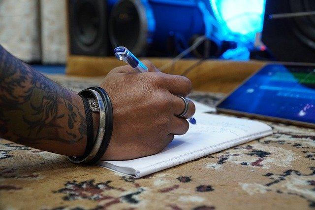 Song Songwriting Music Writing  - arijitsahaofficial / Pixabay